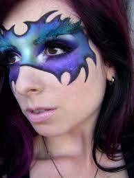 fantasy makeup enchanting mask youtube