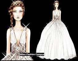 wedding dress design course in bridal wedding design milan italy 2018