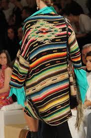 Mexican Rug Sweater Ralph Lauren Indian Blanket Sweater Cardigan Navajo Top Hippie