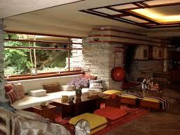 frank lloyd wright living room fallingwater living room picture frank lloyd wright