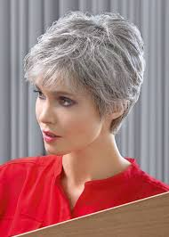 salt and pepper pixie cut human hair wigs ellen wille stimulate collection muse deluxe lace