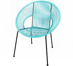chaise turquoise chaise de jardin ipanema fil bleu turquoise 89 salon d été