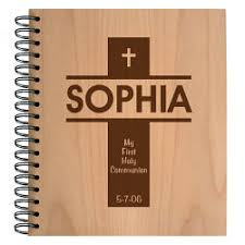 personalized christian wood photo albums religious christian gifts