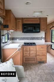 Camper Trailer Kitchen Ideas Prissy Inspiration Rv Kitchen Design 34 Best Ideas About Rv