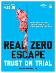 escape a locked room in real life at real zero escape trust on trial