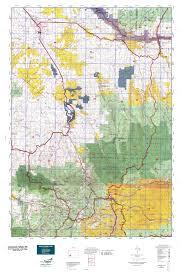 Montrose Colorado Map by Colorado Gmu 65 Map Mytopo