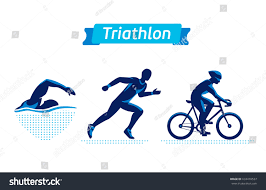 Swimming Logos Free by Triathlon Logos Badges Set Vector Figures Stock Vector 633410537