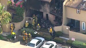 2 killed when small plane crashes into california home
