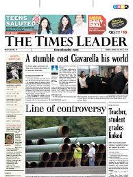 times leader 08 14 2011 pipeline transport