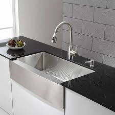 stainless farmhouse kitchen sink outstanding black stainless steel kitchen sink including