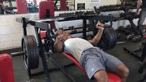360 lb 1rm flat chest press machine youtube