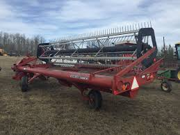case ih 8210 21 ft p t swather weaver bros auctions ltd