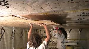 Basement Ceiling Insulation Sound by Build Your Own Studio Part 5 Osb Walls And Ceiling Youtube