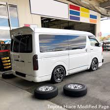 toyota van philippines toyota hiace modified home facebook