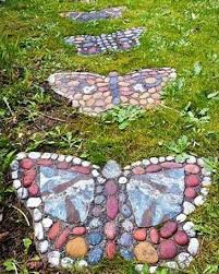 dazzling garden decorations and handmade gifts of painted rocks