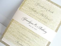 wedding invitations and gold lace wedding invites lace wedding invitations