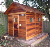 Backyard Sauna Plans by Outdoor Home Sauna Kits Diy Pre Built And Ready To Assemble