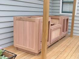 Barbecue Cabinets Wooden Outdoor Cabinet Search Mateo S Bbq Pit