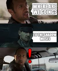 Rock Meme - mgs x the rock driving meme by larsjunfan on deviantart