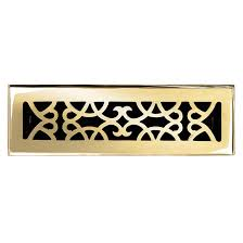 Decor Floor Registers Brass Elegans 120a Plb Brass Decorative Floor Register Vent