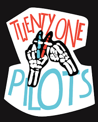 Kitchen Sink Twenty One Pilots Album by Twenty One Pilots Poster I Really Like The Styles Of The Letters