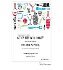 stock the bar invitations stock the bar shower party invitations new selections 2018