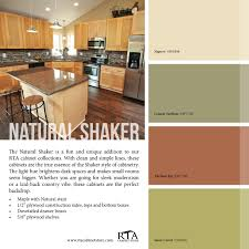 what paint colors look best with maple cabinets color palette to go with our shaker kitchen cabinet