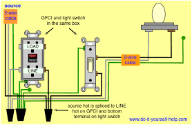 wiring diagram gfci wiring diagram gfci on ungrounded circuit