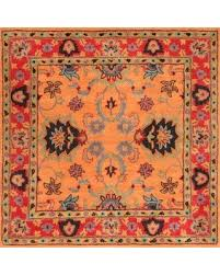 get the deal nuloom remade montesque 8 u0027 square area rug in orange