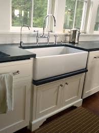 Farmers Sinks For Kitchen Inset White Cabinet Farmhouse Sink Paint Chipping