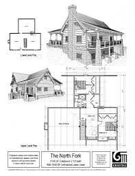 the north fork log cabin plan by gravitas cabins pinterest