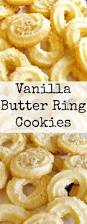 vanilla butter ring cookies these little cookies have a wonderful