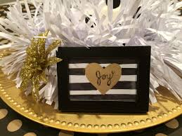 black and gold centerpieces christmas table centerpiece black gold and white craft remedy