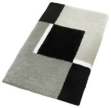 oversized bath rug platinum contemporary bath mats other