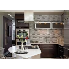 Kitchen Wall Stone Tiles - white mixed silver wall tile home kitchen glass backsplash mosaic