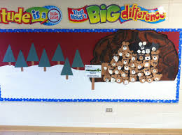 shhh bears hibernating our january bulletin board display