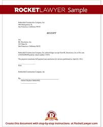 receipt of document form acknowledged receipt of goods template