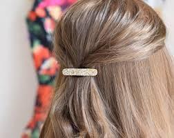 sparkly hair glitter hair clip etsy