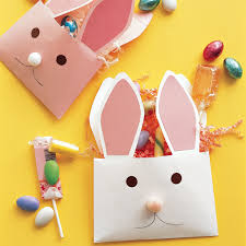 envelope bunnies paper envelopes happy easter and easter