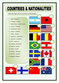 countries and nationalities worksheet pdf english lessons