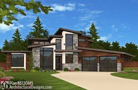 architecturaldesigns com modern plans architectural designs contemporary rambler home