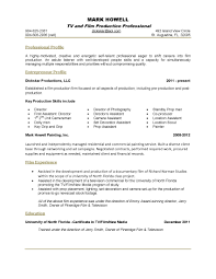 Qualifications In Resume Examples One Page Resume Examples Resume Example And Free Resume Maker