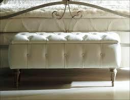 bedroom marvelous tufted end of bed bench black leather bedroom
