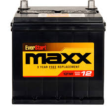 everstart maxx lead acid automotive battery group size 121r
