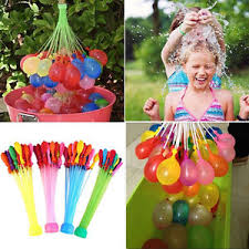 bunch balloons mixed color 111 magic water balloons self tying bunch o balloon