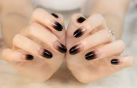 full cover false nail tips almond shape fake acrylic nail art tip