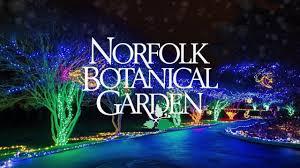 Norfolk Botanical Garden Lights Dominion Energy Garden Of Lights 2017