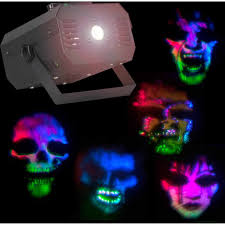 halloween yard lighting indoor lightshow specter projector fire and ice halloween