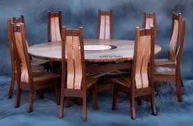 round dining room table for 10 handmade round dining table or conference table with 10 chairs by