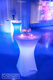 led cocktail table orlando wedding and party rentals lounge and